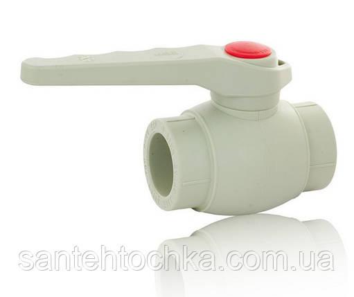 ПП Кран кульовий для гарячої води FADO 50, фото 2