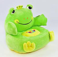Мягкое детское кресло Лягушка