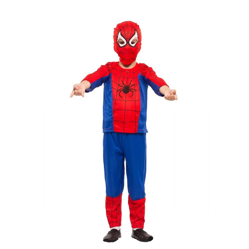 """Детский карнавальный костюм для мальчика""""Человек-паук"""" (полиэстер)"""