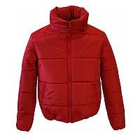 Модная женская курткар. с42 по48 модельвик.красный