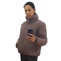 Модная женская курткар. с42 по48 модельвик.лиловый