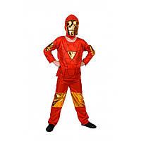 Детский карнавальный костюм Железного человека для мальчика, фото 1