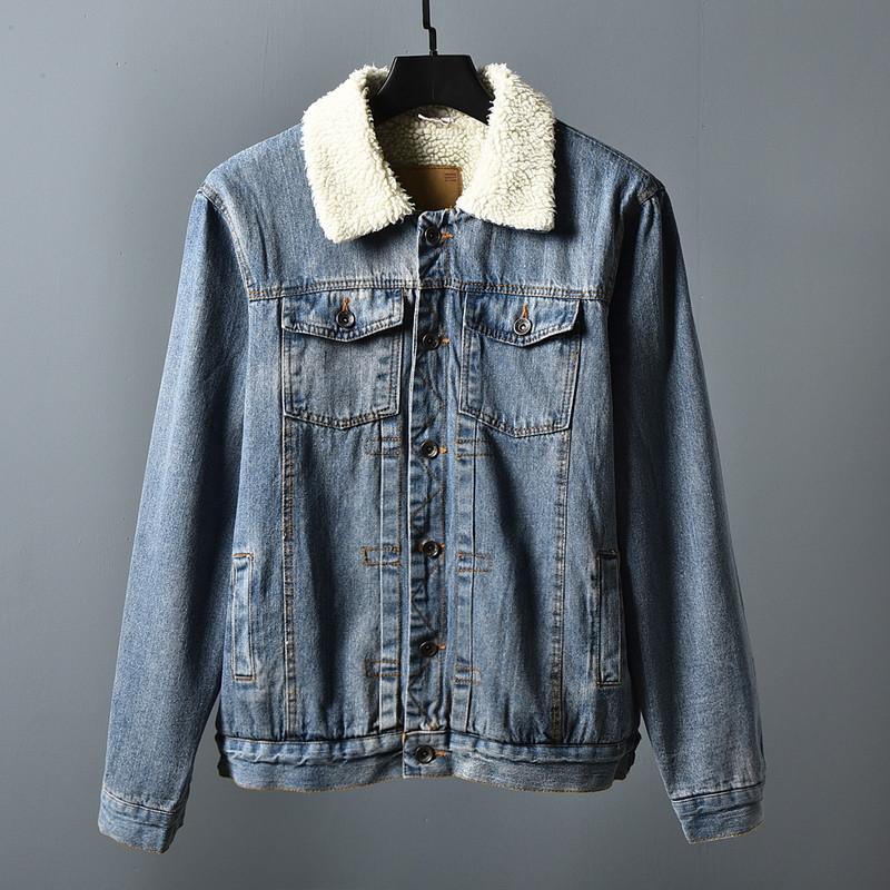"""Куртка мужская джинсовая на меху """"Allsaints Warrior"""""""