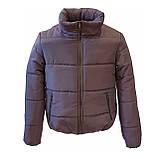 Модна жіноча куртка р. з 42 по 48 модель вик.сірий, фото 5