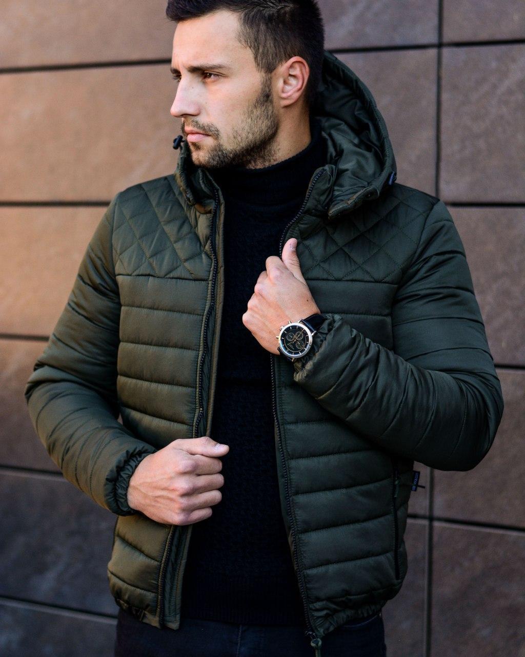 😜 Парка - Мужская Куртка Dream Утепленная хаки
