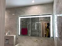 Дзеркало для ванної з Led підсвічуванням Portal 2 80*60см