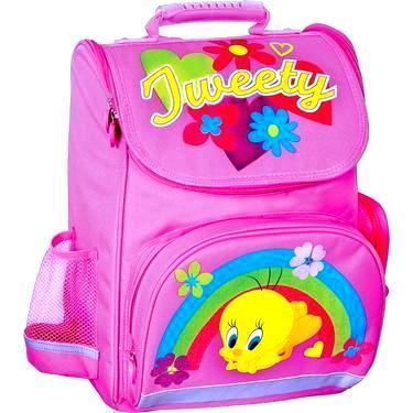 """Ранець шкільний каркасний 14"""", """"Tweety"""" 600 ранец школьный портфель"""