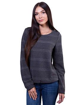 Серый женский пуловер (размеры XS-L)