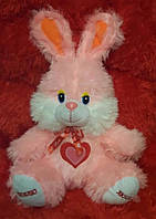 Мягкая игрушка Зайчик Дашенька 45см (розовый)