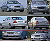 Продам решетку радиатора на Мерседес 220(Mercedes 220)2004