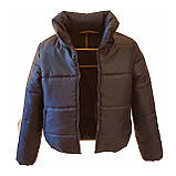 Модна жіноча куртка р. з 42 по 48 модель вик.синій, фото 6