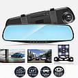 Видеорегистратор - Зеркало + Камера заднего вида (4.3 TFT/ Full HD/ 170°/ G-Sensor), фото 3