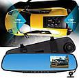 Видеорегистратор - Зеркало + Камера заднего вида (4.3 TFT/ Full HD/ 170°/ G-Sensor), фото 4