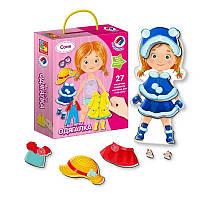 Магнитная игра-одевашка Vladi Toys Соня - VT 3702-03 / VT 3702-07 (1-72842)