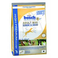 Сухой корм для собак Bosch Adult Mini Lamb & Rice15кг