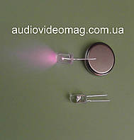 Светодиод 3V 5 мм, инфракрасный, длина волны 850 нм