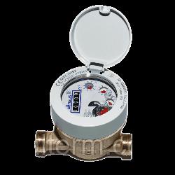 Високоточний одноструменевий лічильник для холодної води SENSUS 820 ø1/2 категорія С (напівмокрохід)