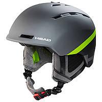 Горнолыжный шлем Head Varius grey/lime 2020