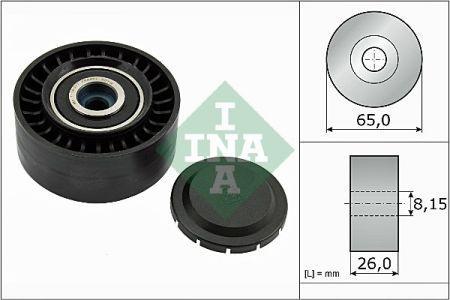 Обводной ролик AUDI Q5 (8RB) / AUDI A4 Avant (8ED, B7) / AUDI A6 (4G2, 4GC, C7) 2002-2018 г.