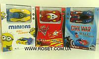 Антигравитационная машинка Wall Climber Cars (Minions , Captain America, McQueen), фото 1