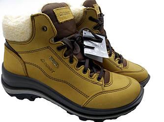 Женские ботинки на меху Grisport рыжие 12309N68Ln