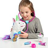 Интерактивный единорог и набор ветеринара, Little Live Rainglow Unicorn Vet Set. Оригинал из США, фото 4