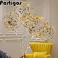 "Воздушный шар абсолютно прозрачный шар bubbles / бабл 18"" ( 45 см.), фото 3"