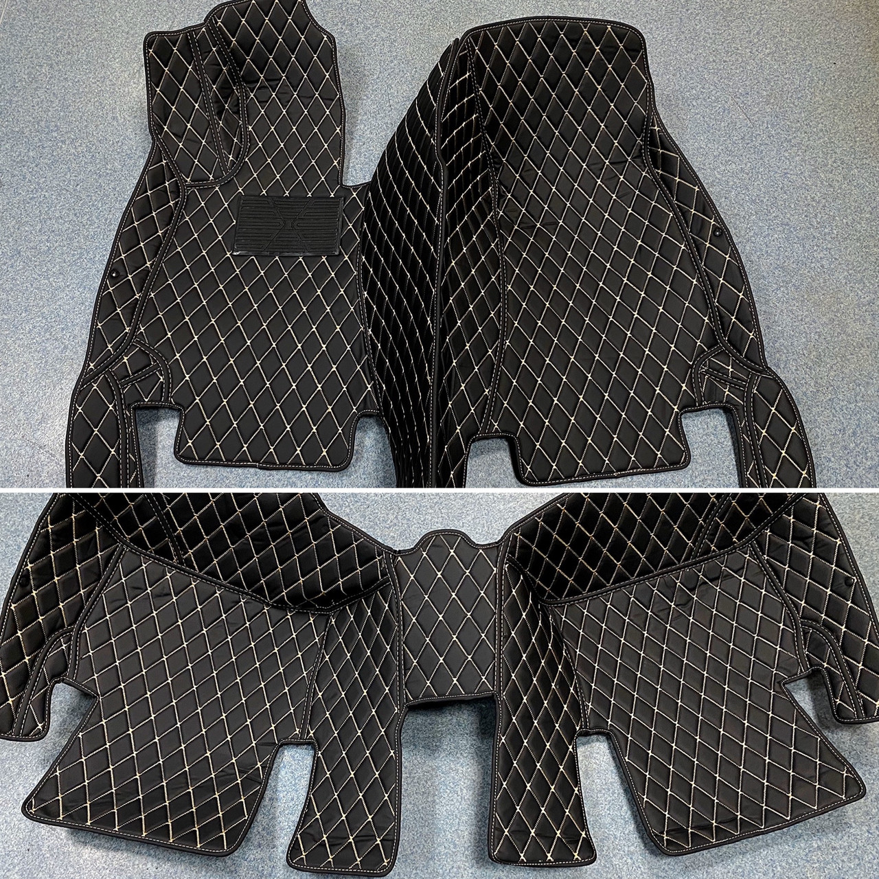 Комплект ковриков из экокожи для Mercedes GLA, от 2013 года