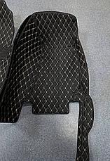 Комплект ковриков из экокожи для Lexus RC, от 2016 года, фото 3