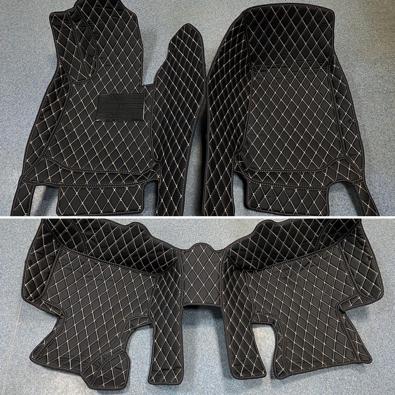 Комплект ковриков из экокожи для Mercedes GLC, от 2016 года