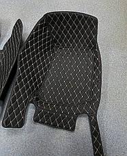 Комплект ковриков из экокожи для Mercedes GLC, от 2016 года, фото 3