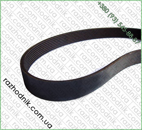 Ремень на бетономешалку 6PJ 610 (силикон), фото 2