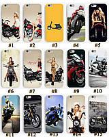 Чехол премиум качества с принтом Мото Мотоциклы для Iphone 6 6S 6Plus 6S Plus