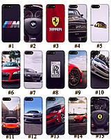 Чехол премиум качества с принтом Авто Машины для Iphone 7 8 7Plus 8Plus