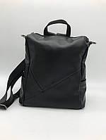 Рюкзак женский Guecca черный 705 кожа