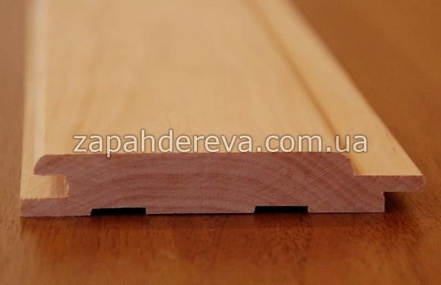 Вагонка дерев'яна сосна, вільха, липа Юнокомунарівськ