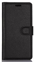 Шкіряний чохол-книжка для LG G7 ThinQ чорний