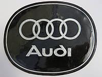 Антискользящий силиконовый коврик на торпедо с логотипом Audi с запахом лимона