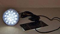 Светодиодная лампа с солнечной батареей и аккумулятором Аварийная лампа Поход Фонарь туриста LED све
