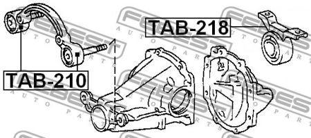 Сайлентблок важеля TOYOTA RAV 4 I Cabrio (_A1_) / TOYOTA RAV 4 I (_A1_) 1994-2000 р.
