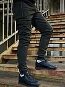 Мужские зимние утепленные штаны Flash Intruder серого цвета