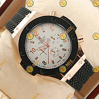 Часы Hublot Big Bang Black/White/Gold Glass