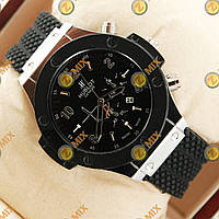 Часы Hublot Big Bang Black/Silver Glass