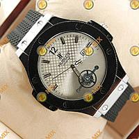 Часы Hublot Geneve Black/Silver