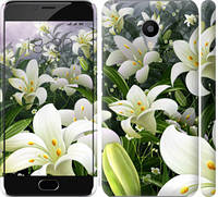 "Чехол на Meizu M3s Белые лилии ""2686c-943-17206"""