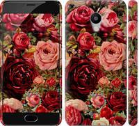 """Чехол на Meizu M3s Цветущие розы """"2701c-943-17206"""""""