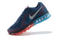 Мужские кроссовки Nike Air Max 2014 синие