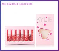 Набор матовых помад Kylie Jenner Matte Liquid Lipstick 6 шт.