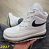 Дутики ботинки белые найк, фото 3