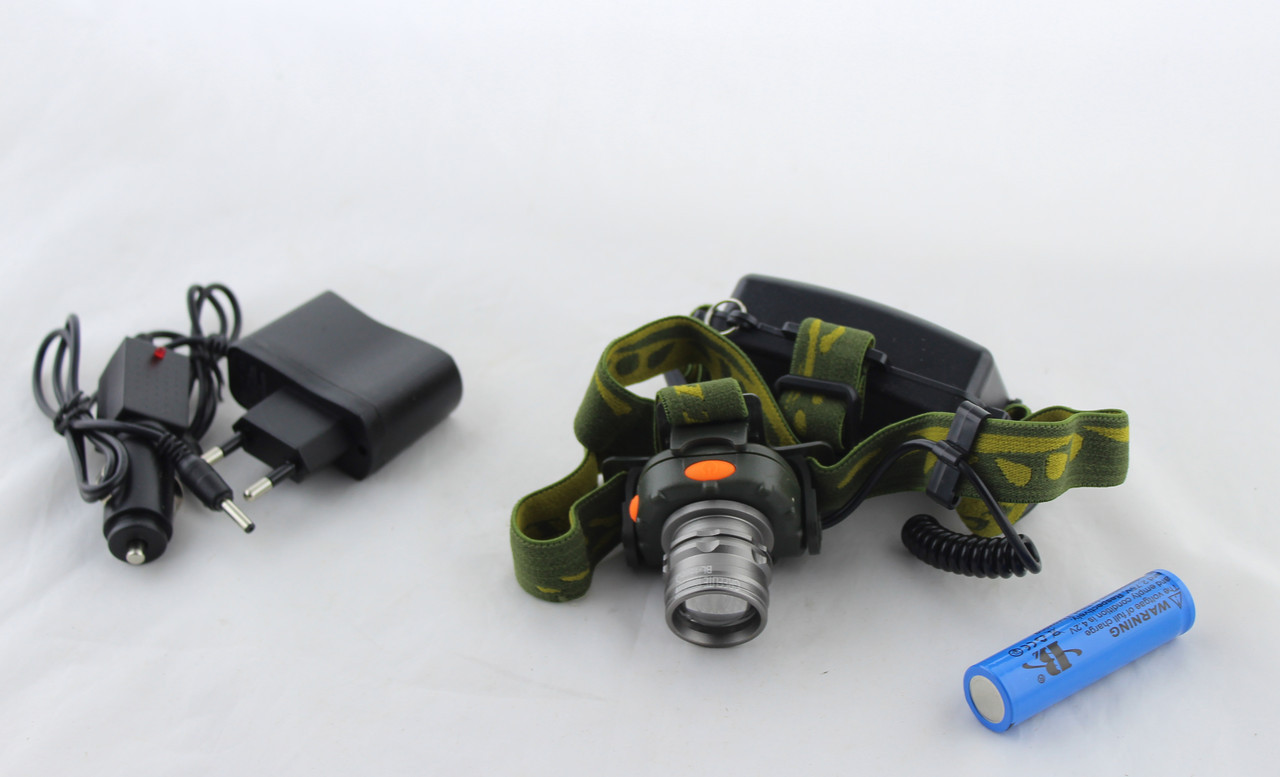 Налобный фонарик SH BL 1505 \ 602B SENSOR